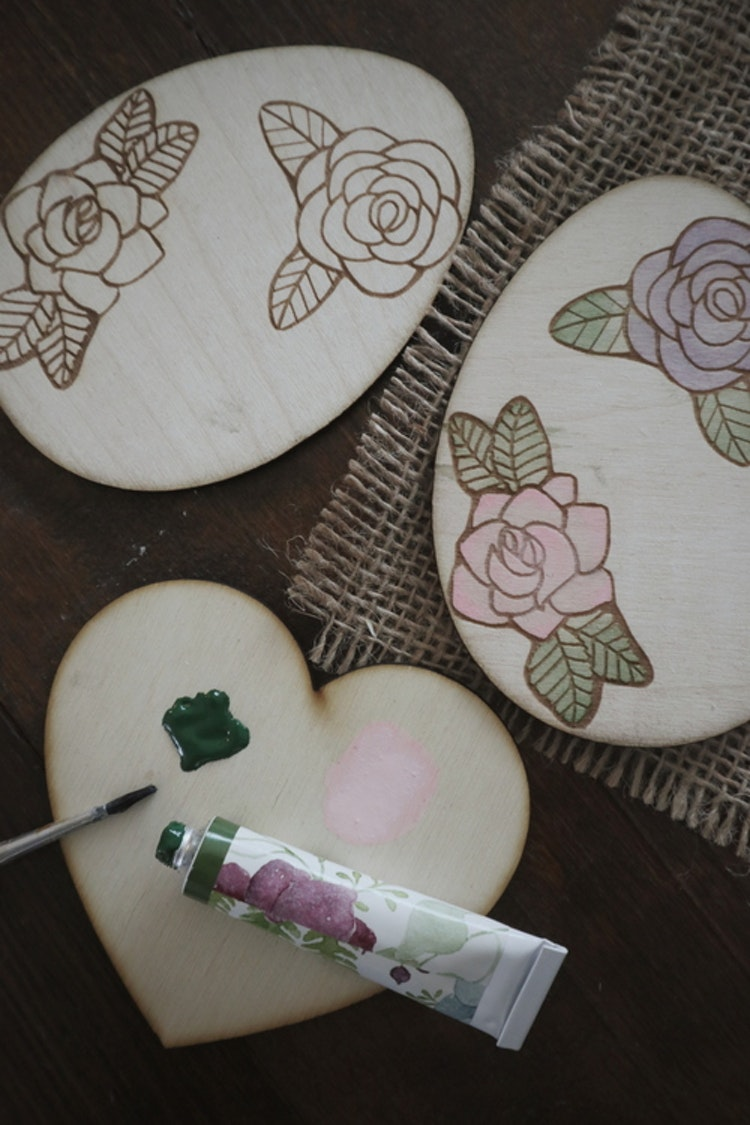 Påskägg - Blommor