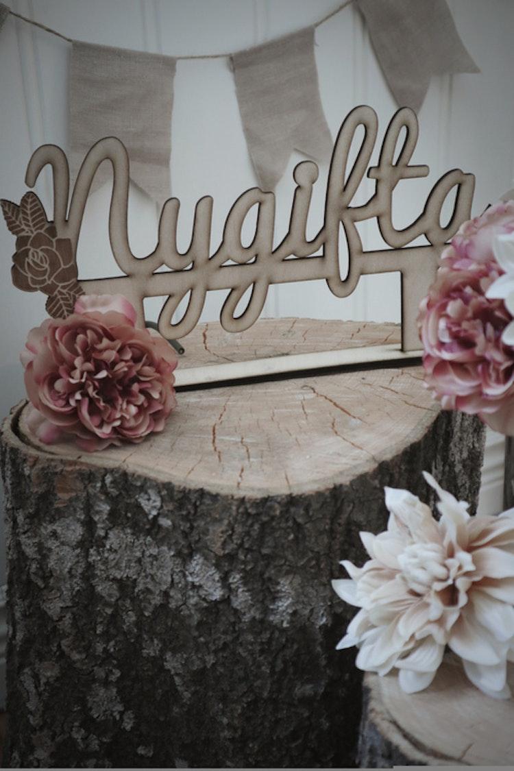 Bordsdekoration - Nygifta