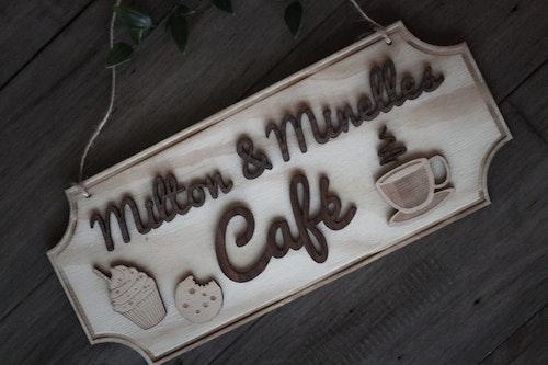 Caféskylt