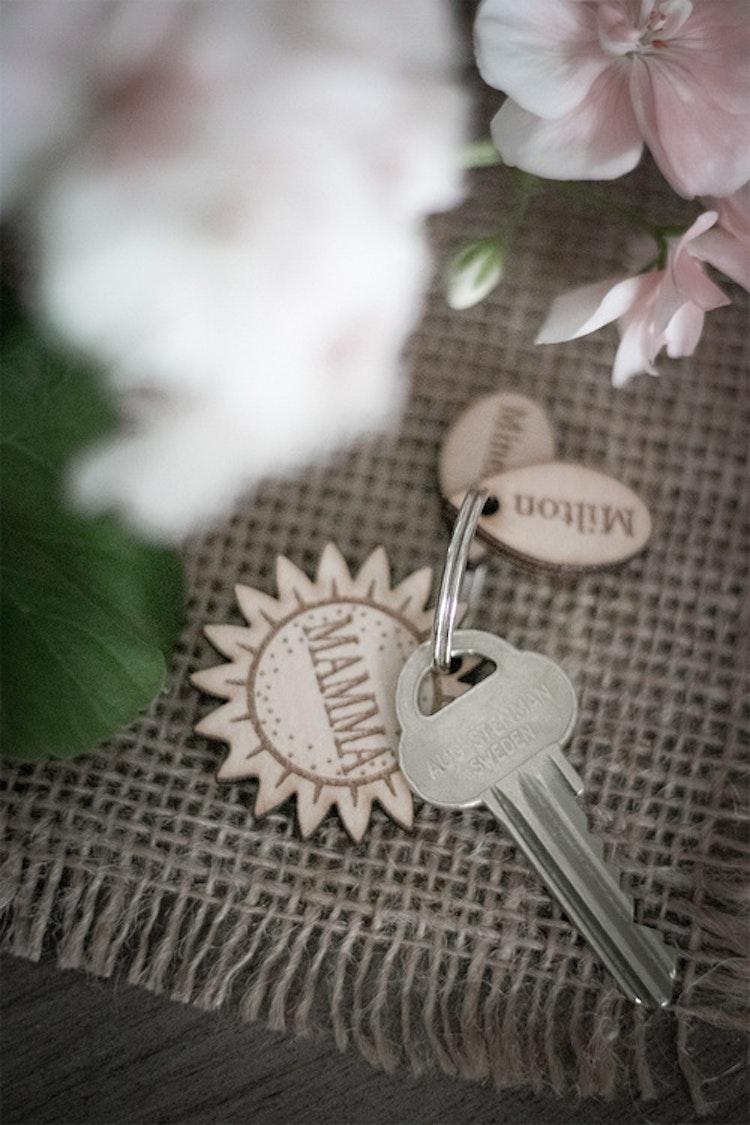 Nyckelring - Solros