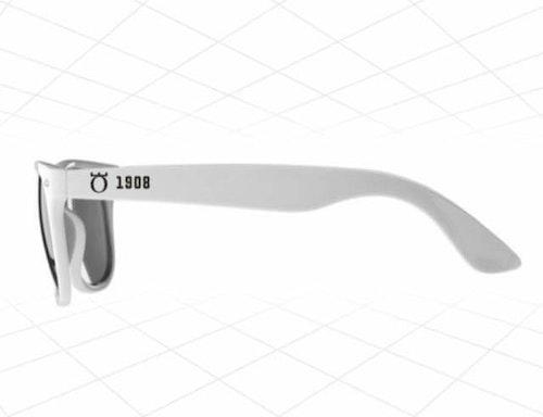 Klassiska solglasögon VITA