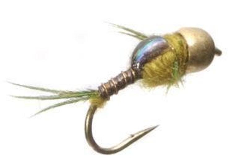 Dagsländenymf-kollektion | 40 st exklusiva flugor i slitfoam-ask