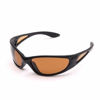 Polariserande solglasögon, brun lins