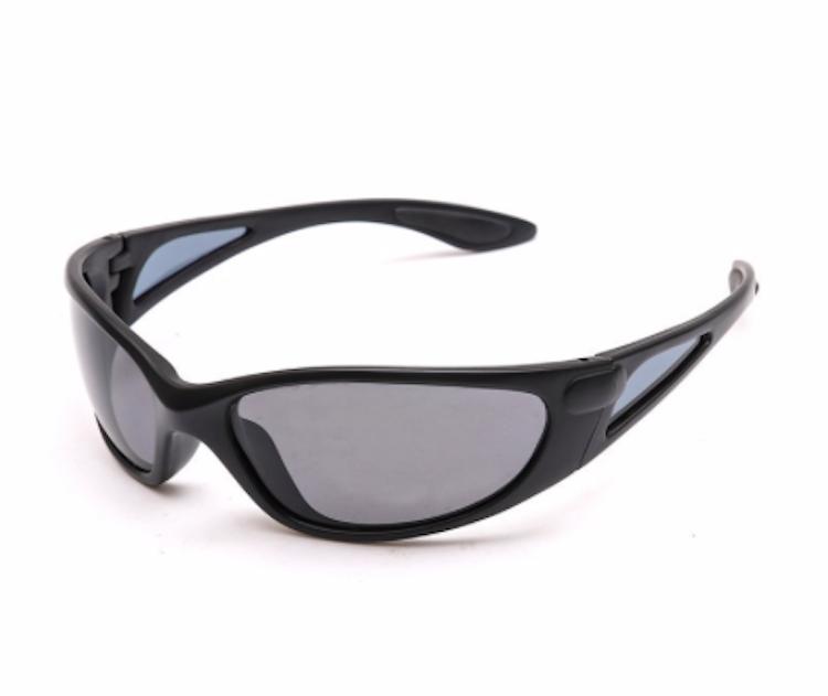 Polariserande solglasögon, grå lins