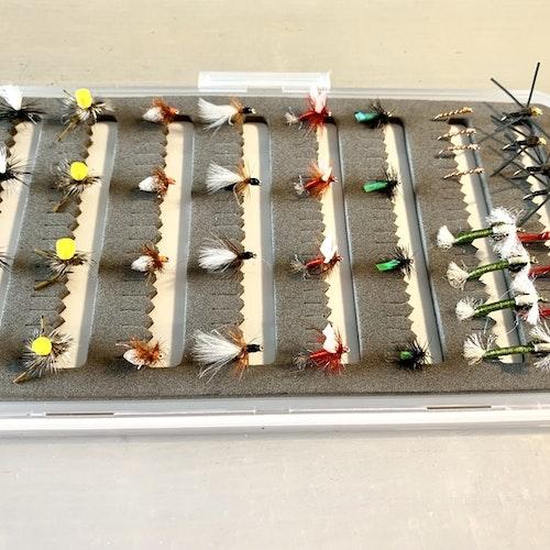 FJÄLLFISKE | 40 st exklusiva flugor