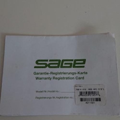 Sage Xi2 9ft #7