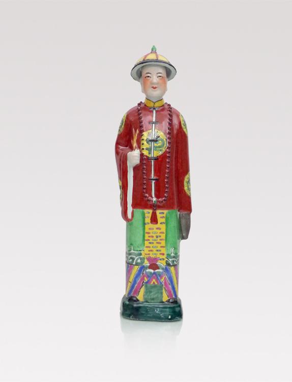 Chinese porcelain figurine