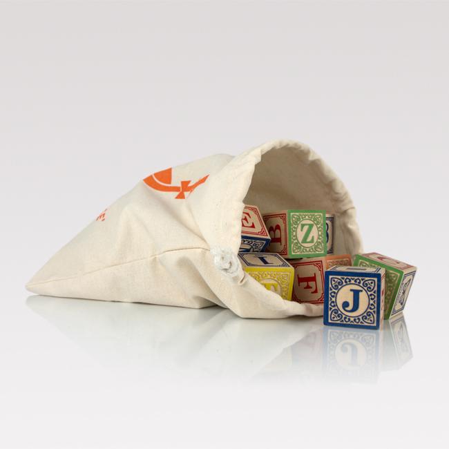 Canvas blocks bag