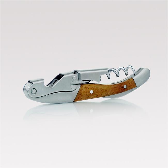 Corkscrew and bottle opener