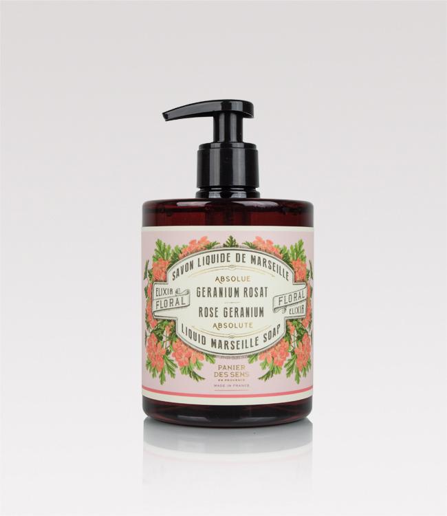 Rose geranium handwash