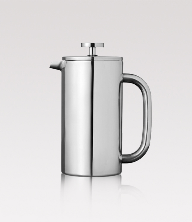 Steel French press