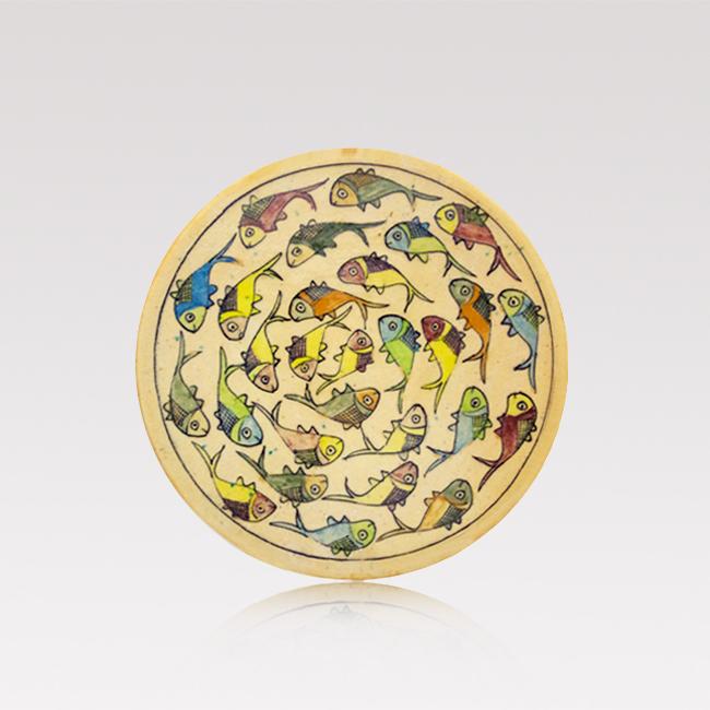 Iranian fish plate