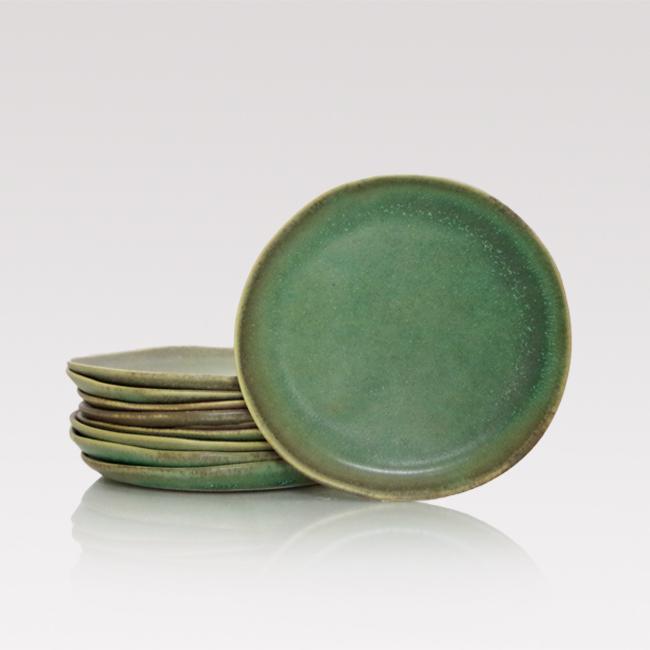 Handmade ceramic side plate