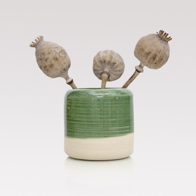 Handmade ceramic mini vase