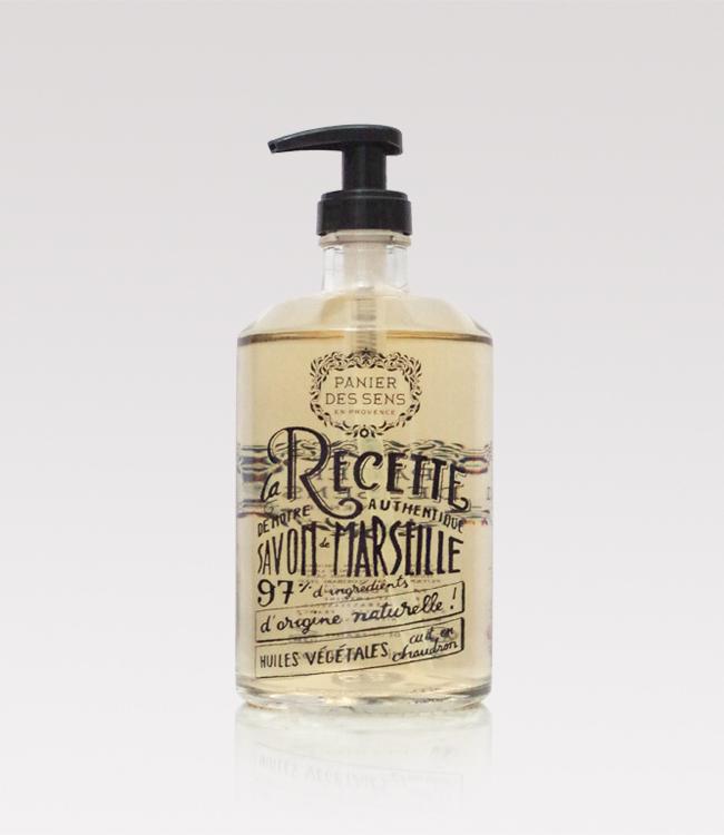 Glass bottle Provence handwash
