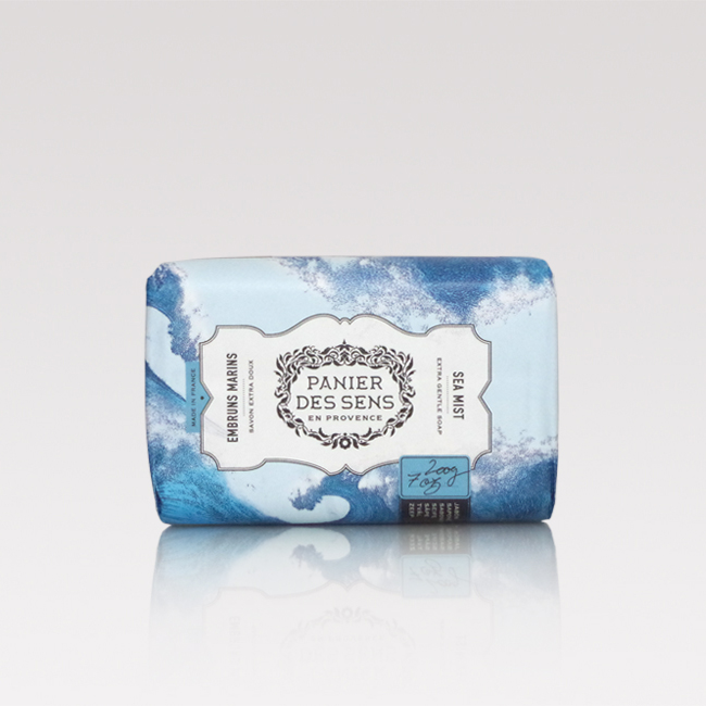 Sea mist face and body soap