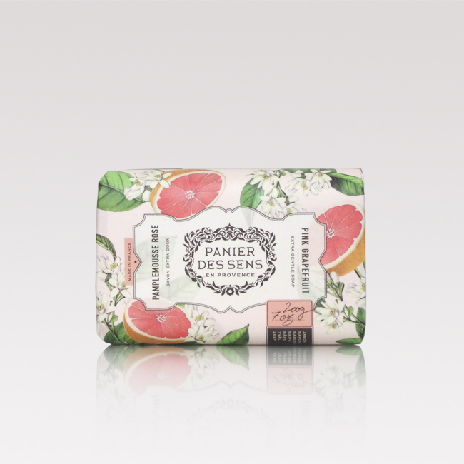 Pink grapefruit face and body soap