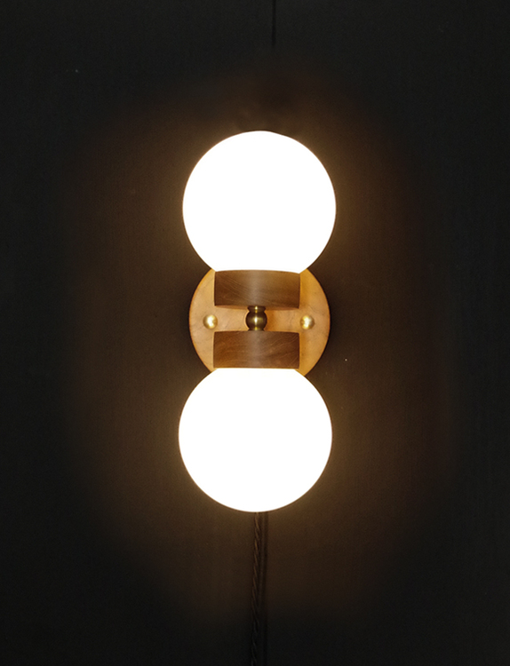 Ws2 handmade wall light