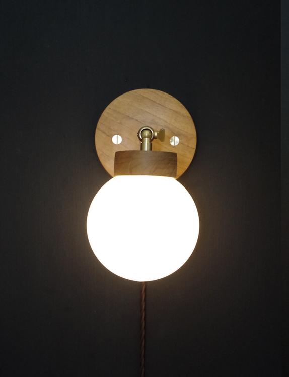 Ws1 handmade wall light