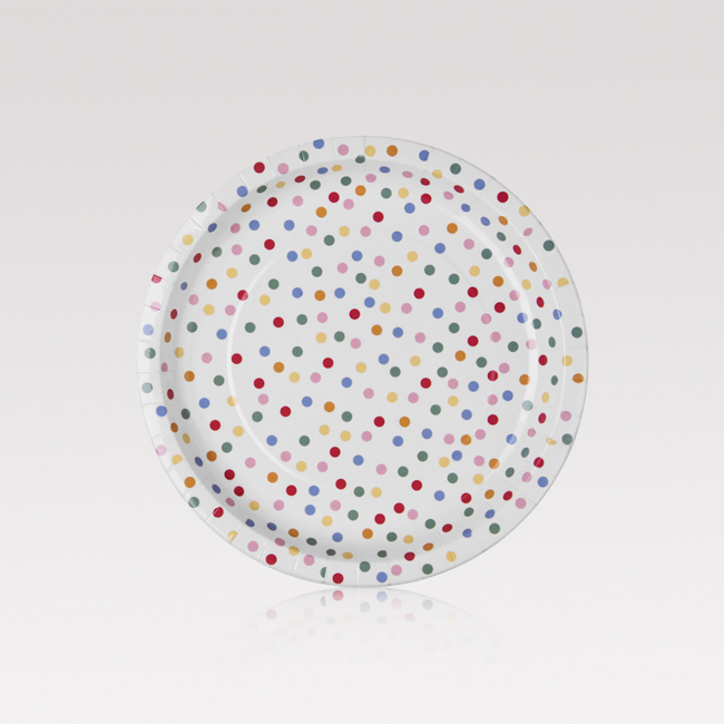 Paper plate 12-p