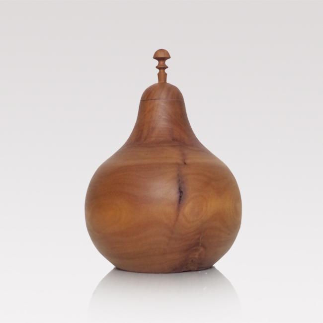 Vintage wooden pear