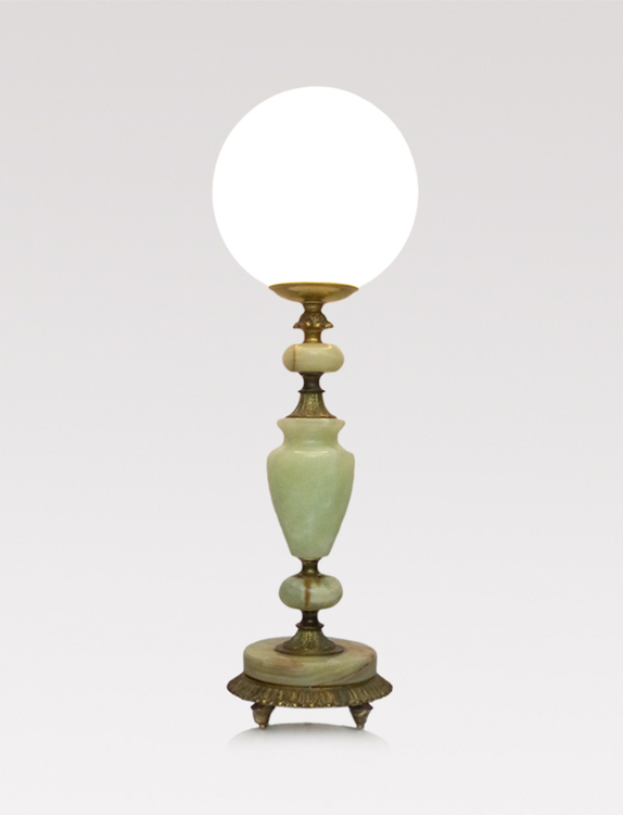 Up-cycled vintage table lamp
