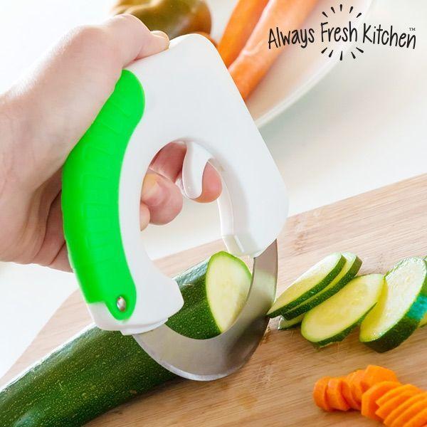 Cirkulär Kniv Chop & Roll