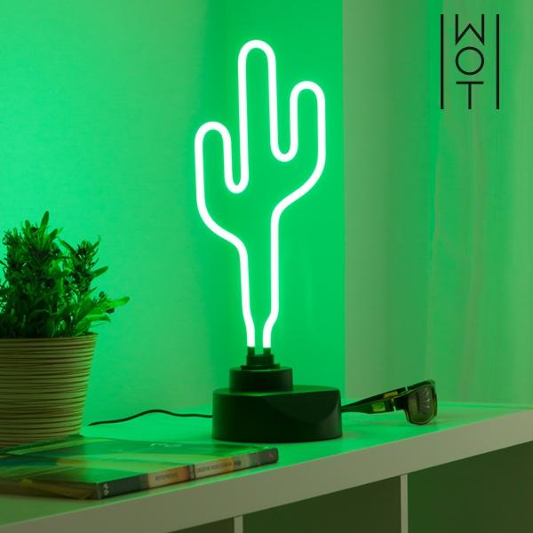 Kaktus Neonlampa