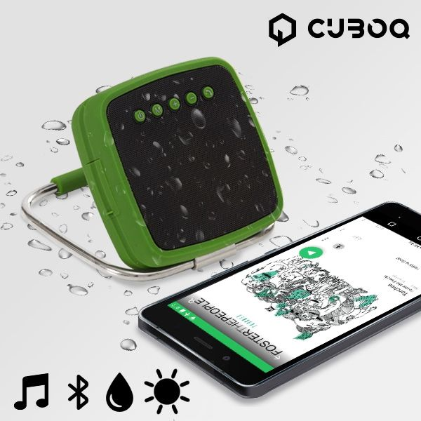 Bärbar Bluetooth Högtalare Solenergi