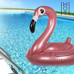 Uppblåsbar Flamingo Rosé