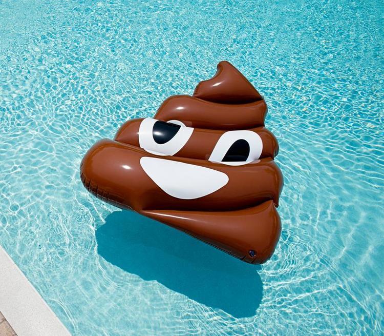 Emoji Poop Luftmadrass