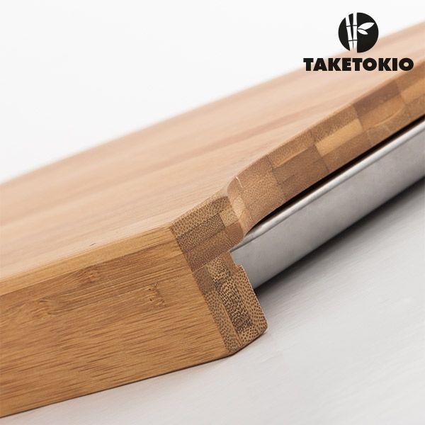 Bambu Skärbräda med Bleck