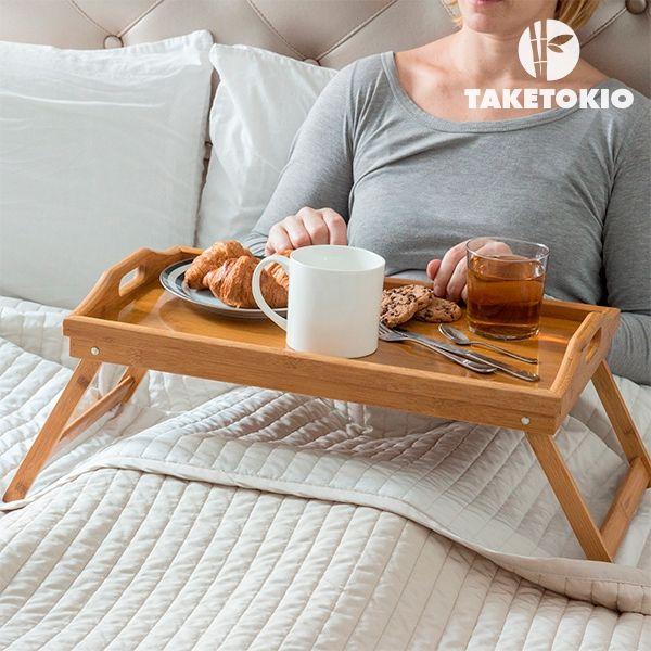Sängbricka av Bambu