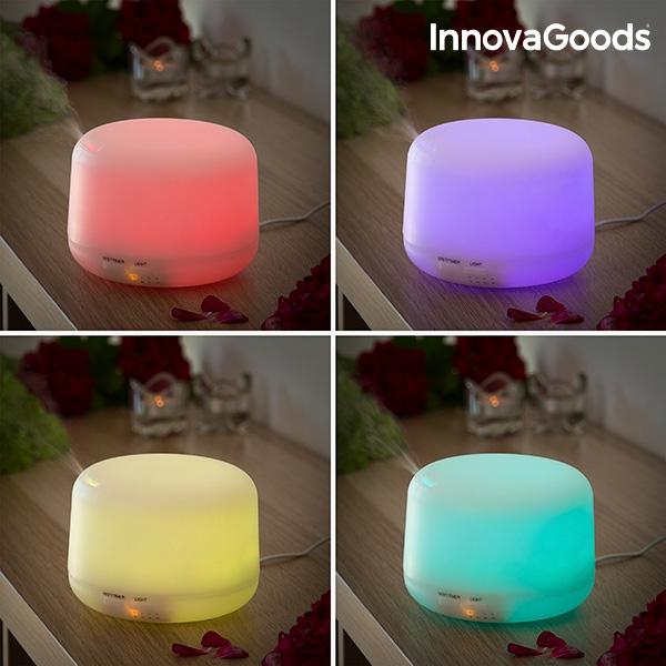Luftfuktare med Doft och LED