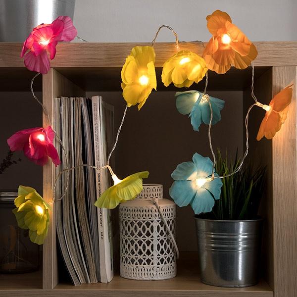 LED-Ljusslinga Blommor