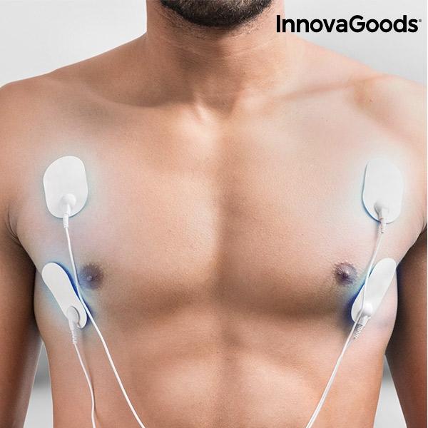Elektrisk Muskelstimulator EMS Pulse för bröst och magmuskler