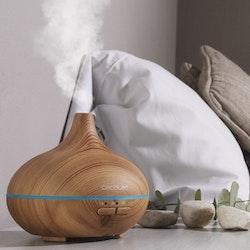 Luftfuktare med LED och Aromaterapi