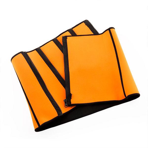 Förbränningsbälte Sportbälte orange