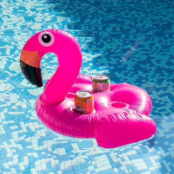 Flamingo Drinkhållare 4 Burkar