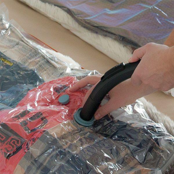 Vakuumpåsar förvara kläder