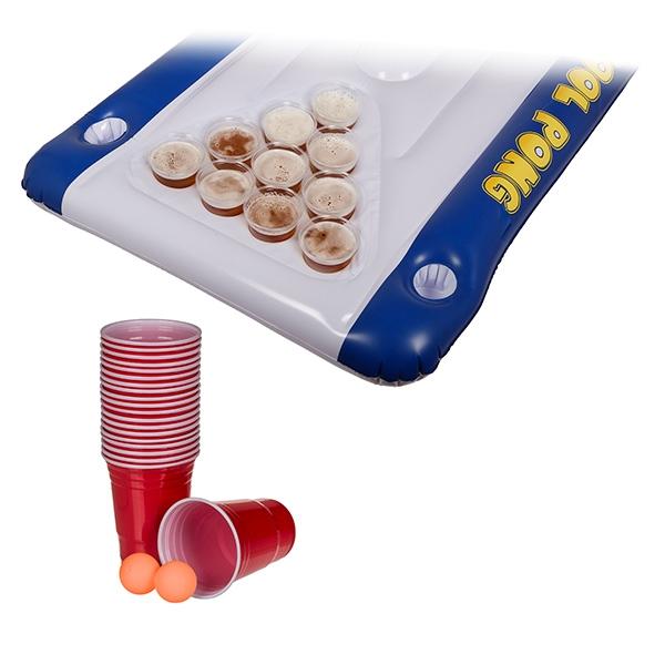 Pool Pong - Uppblåsbart Beer Pong