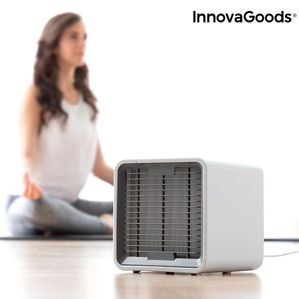 Freezy Cube Luftkylare med LED förbättrar luftkvaliteten