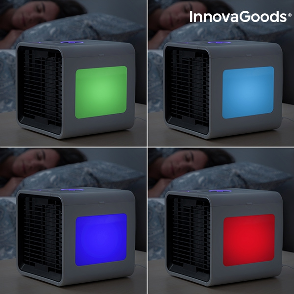 Freezy Cube Luftkylare med LED multicolor