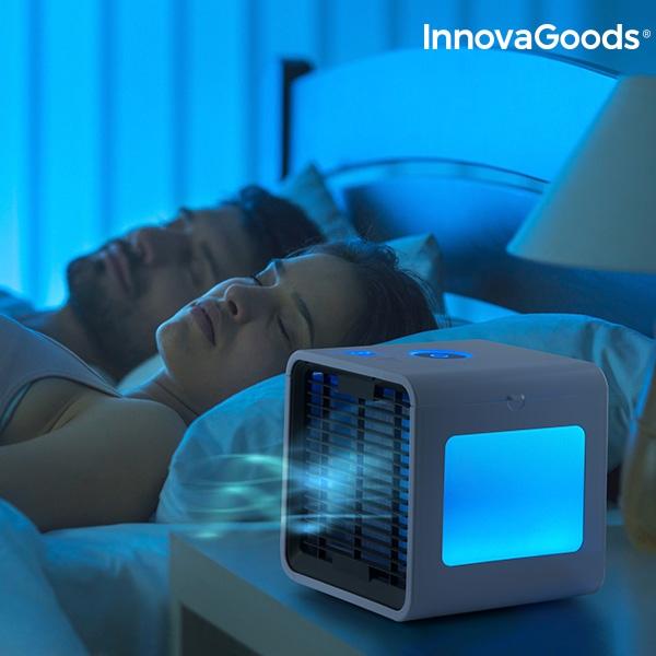 Freezy Cube Luftkylare med LED för bättre sömn