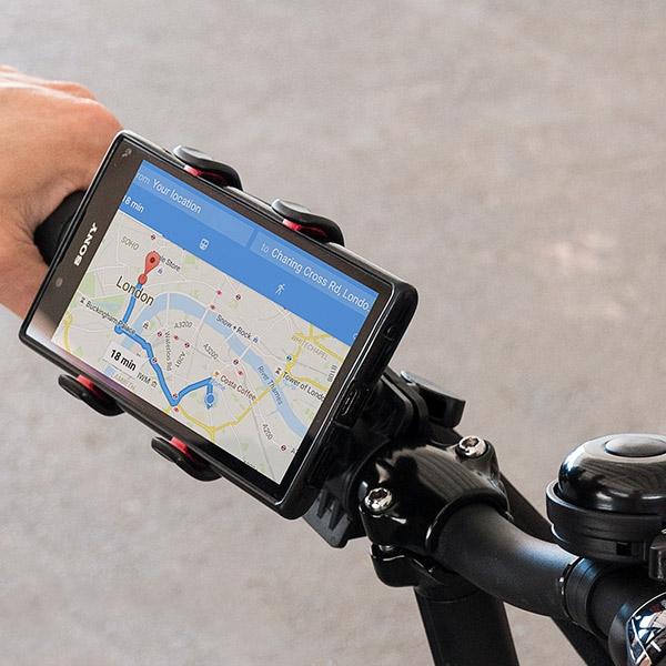 Mobilhållare för Cykel enkelt översikt