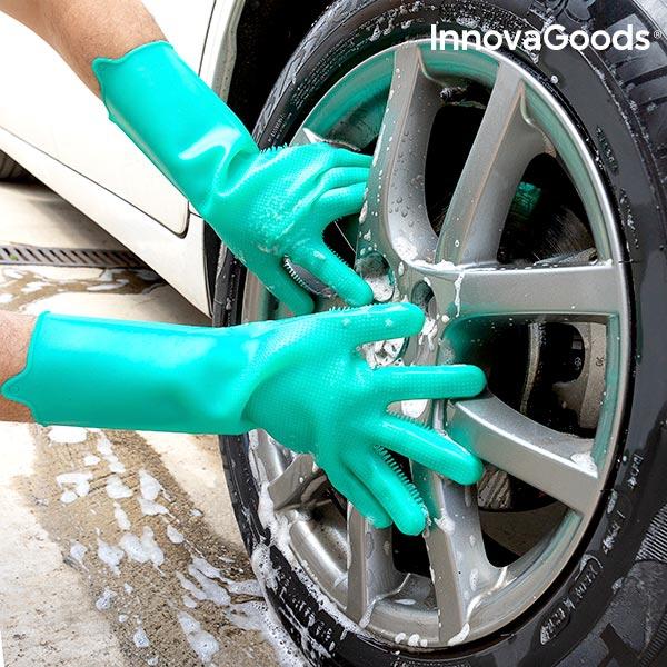 Silikonhandskar för biltvätt