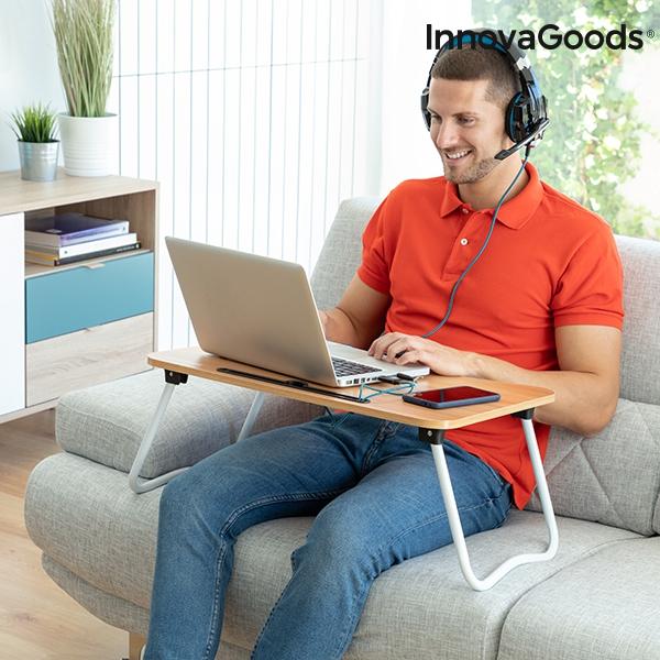 Hopfällbart Laptopbord med flera funktioner