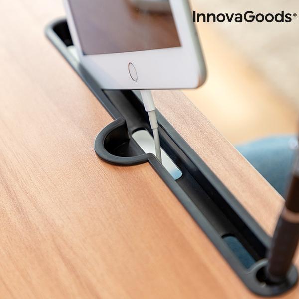 Hopfällbart Laptopbord med ställ för mobil