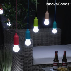 Portabel LED-lampa i Snöre