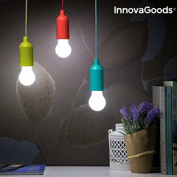 Portabel LED-lampa i Snöre dekorationsbelysning